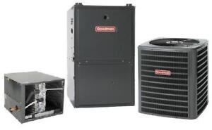 High Efficiency Furnace and Air Conditioner - $99 Mo for both!!