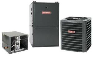 High Efficiency Furnaces and Air Conditioner - $99 Mo for both!!