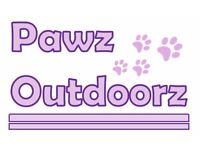 PAWZ OUTDOORZ! Dog walking, house visits, feeding, and all round pet sitting. We cover it all!