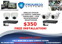 CCTV HD SURVEILLANCE CAMERA SYSTEM FROM $350 WITH INSTALLATION