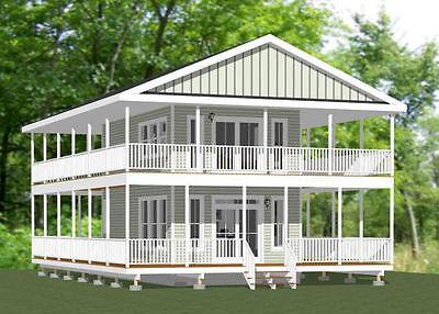 16X28 Tiny House    810 Sq Ft     Pdf Floor Plan   Model 9
