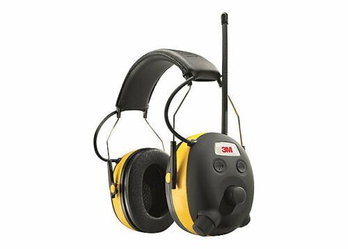 3M WorkTunes Pro DIGITAL AM/FM Hearing Protector Headphones Work Tunes ~NEW~