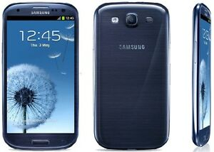 THE CELL SHOP has Unlocked Blue Samsung S3
