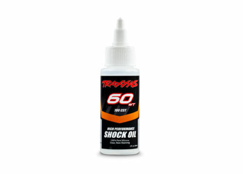 60 weight Silicone Shock Oil (60 wt, 700 cSt, 60c) Traxxas TRA5035