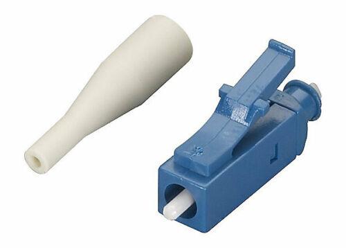 LC Fiber Optic connectors SM UPC Bag of 100  w/900um boot and cap. anaerobic