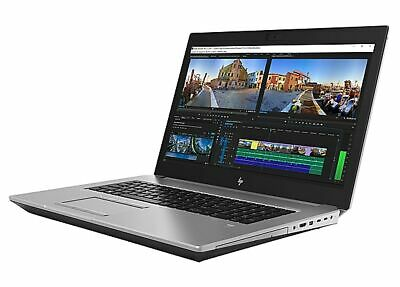 "HP ZBook 17 G5 - 17.3"" - i7 8750H - GHz - 32GB RAM - 500GB HDD"