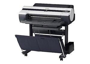 "Canon imagePROGRAF iPF610 24"" Large-Format Inkjet Printer Color Plotter"