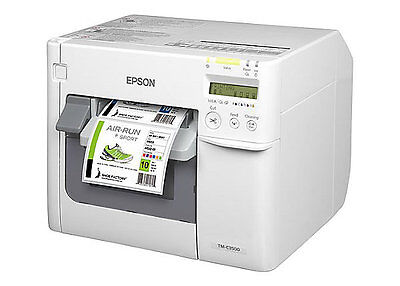 Epson ColorWorks TM-C3500 Inkjet USB Color Label Printer P/N: C31CD54011