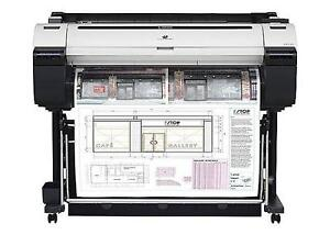 """Canon imagePROGRAF iPF770 36"""" Large-Format Inkjet Printer Plotter"""