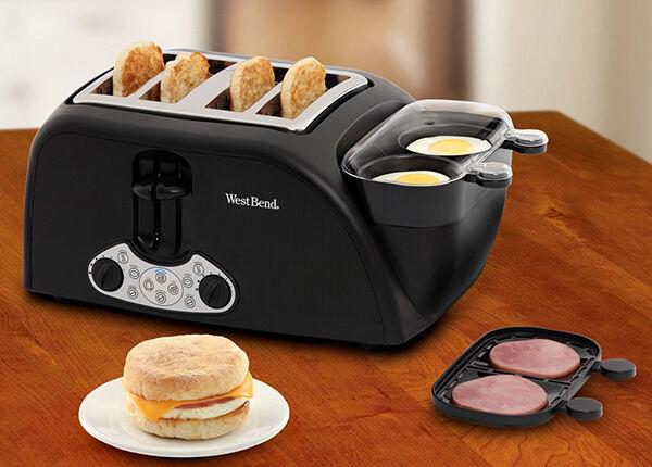 Praktische Toaster für Großfamilien