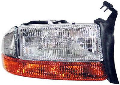 New Replacement Headlight With Signal & Side Marker RH / FOR DAKOTA & DURANGO
