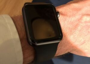 Apple Watch sport 42 mm noir