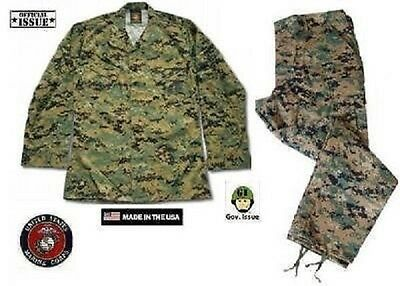 Funsport US Marines USMC MARPAT Desert Digital MCCUU Tarnanzug Hose Jacke SL Small Long Airsoft