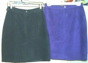 *****Sz 9-10 Suede Skirts–NEW-Smoke & Pet Free*****