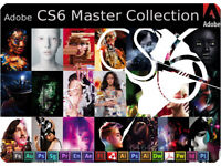 ADOBE CREATIVE SUITE 6 - FULL MASTER COLLECTION (PC or MAC)