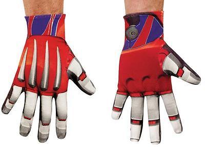 ers Optimus Prime Handschuhe Kostüm Zubehör DG73573 (Optimus Prime Zubehör)