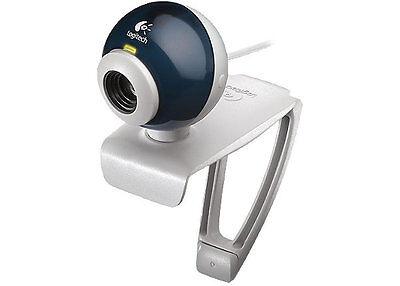 Logitech Quickcam Chat V2 Usb Video Webcam Web Camera W Free Earphone Headset
