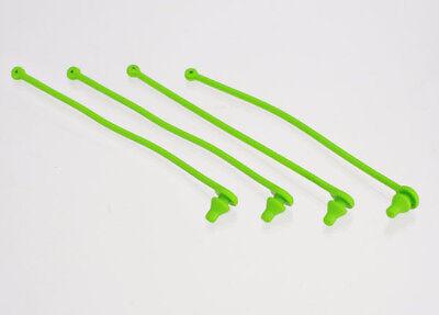(Traxxas 5753 Body Clip Retainer Set (4) (Green))