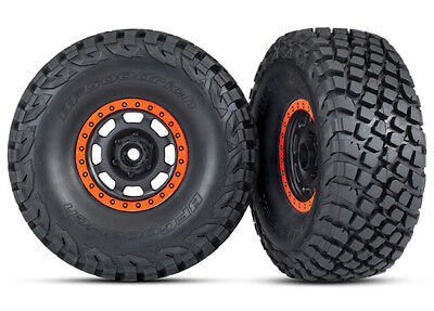 4wd Tires And Wheels - Traxxas 8472 Tires and wheels glued BFGoodrich® Baja KR3 Desert Racer 4WD