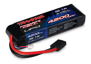Traxxas 2867 4200mAh 7.4V 2S 2-Cell 25C LiPo Battery Pack - LIMITED TIME OFFER!