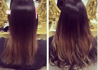 Hair Extensions. Fusion/ Tape-In/ Microlinks/ Intregrated Weft