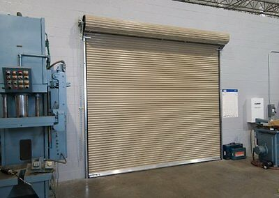 DuroSTEEL JANUS 8' X 8' 1100 Series Commercial Down on RATED Roll-up Door DiRECT
