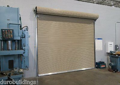 Durosteel Janus 16x16 Commercial 2500 Series Heavy Duty Roll-up Door Direct