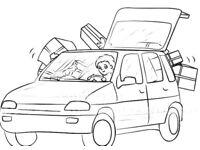 Moving furniture/Van hire