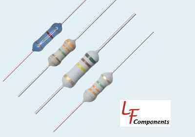 100 Ohm 1 Watt 5 Metal Oxide Resistor 10 Piece Lot 281-100-rc