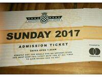 1 x Goodwood Festival of Speed ticket - Sunday