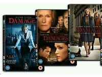 Damages - Season 1-3 [DVD] box set