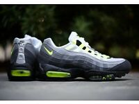 Nike Air Max 95 OG Neon Size 10