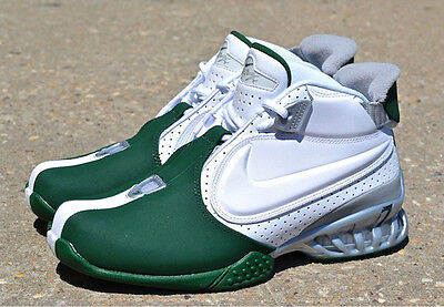 Nike Zoom Michael Vick Ii Sneakers New  New York Jets White   Green 599446 100