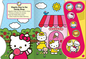 Hello Kitty Sweet Songs Play-a-Sound [Board book] - NEW - $5.00 Kitchener / Waterloo Kitchener Area image 5