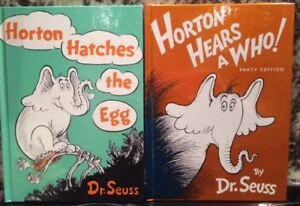 Horton Hatches the Egg and Horton Hears a Who!