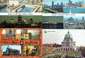 Ten Unused 'Montréal, Quebéc' Post Cards + Two Souvenir Folders Kingston Kingston Area image 1
