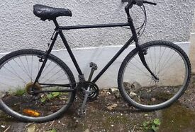 Large mens bike 700cc new wheels tyres