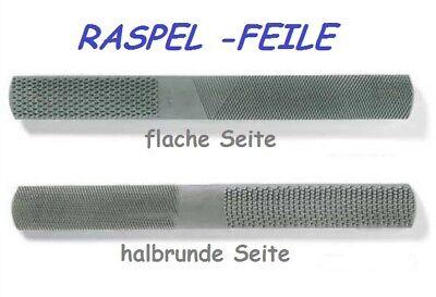 Specksteinfeile halbrund ( Raspel / Feile )