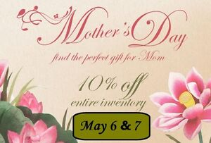 Mothers Day Sale 10% OFF Everything! 5 Corners Antiques & Things