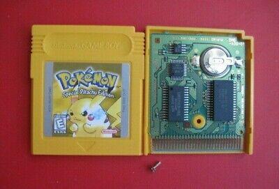 Pokemon Yellow Version: Special Pikachu Ed Nintendo Game Boy Color *OEM & Saves*