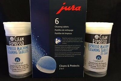 Jura Capresso Espresso Machine Cleaning Tablet 6 Universal Automatic Cleaner 25 - Jura Capresso Espresso