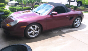 1997 Porsche Boxster 5 speed