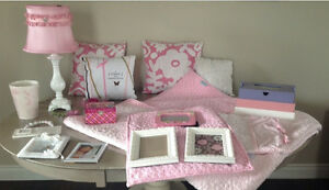 Girls bedroom decor - $100 for everything in picture
