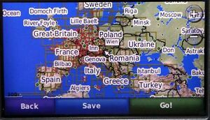 Garmin Europe Maps EBay - Garmin maps for united kingdom