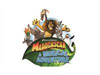 3 X Madagascar Tickets Dress Circle