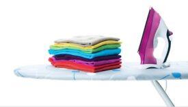 Washing and ironing