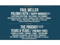 Victorious Festival 2 x Weekend tickets for sale Paul Weller / The Prodigy / Libertines /