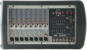 MIXER AMPLIFIEE PEAVEY XR8300. YORKVILLE XY12