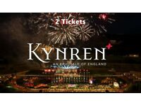 KYNREN TICKETS X 2 GOLD SEATING + PARKING TICKETS AND SHUTTLE BUS TICKETS - SAT' 11th AUG'