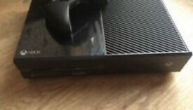 Xbox One 500GB 2 controllers + new call of duty